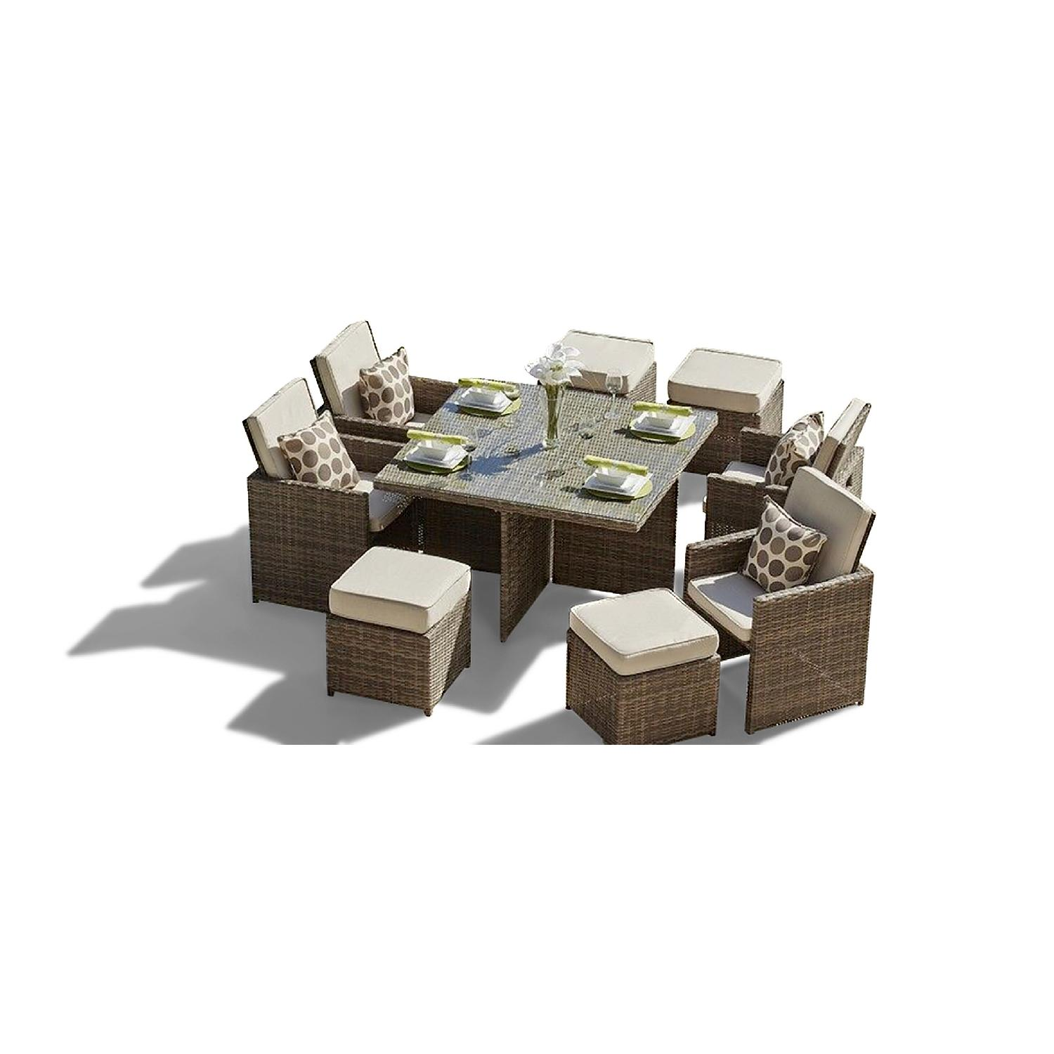 Lynette Outdoor 9-Piece Dining Set-1