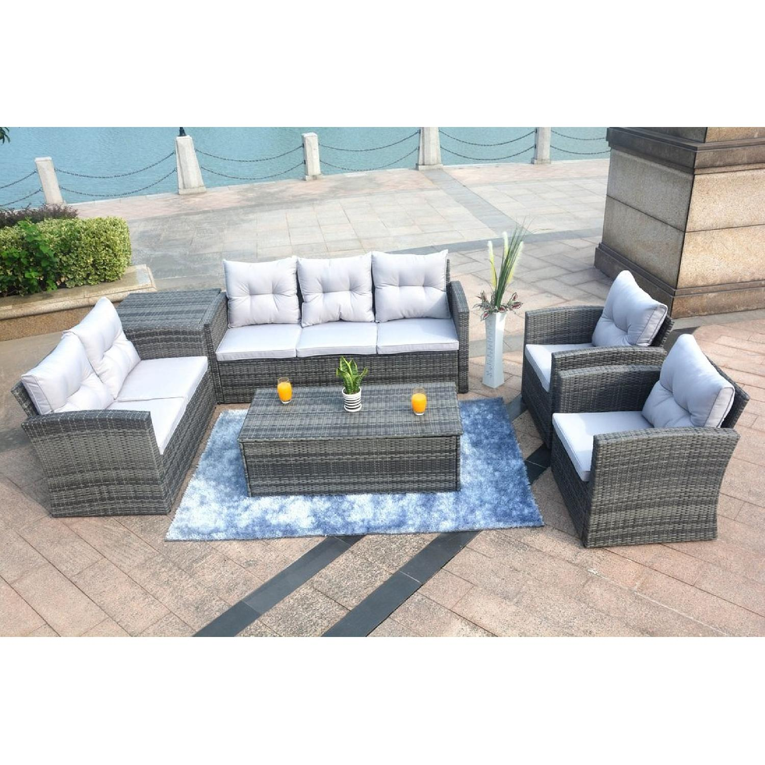 Edmond 6 Piece Outdoor Set w/ Storage-2