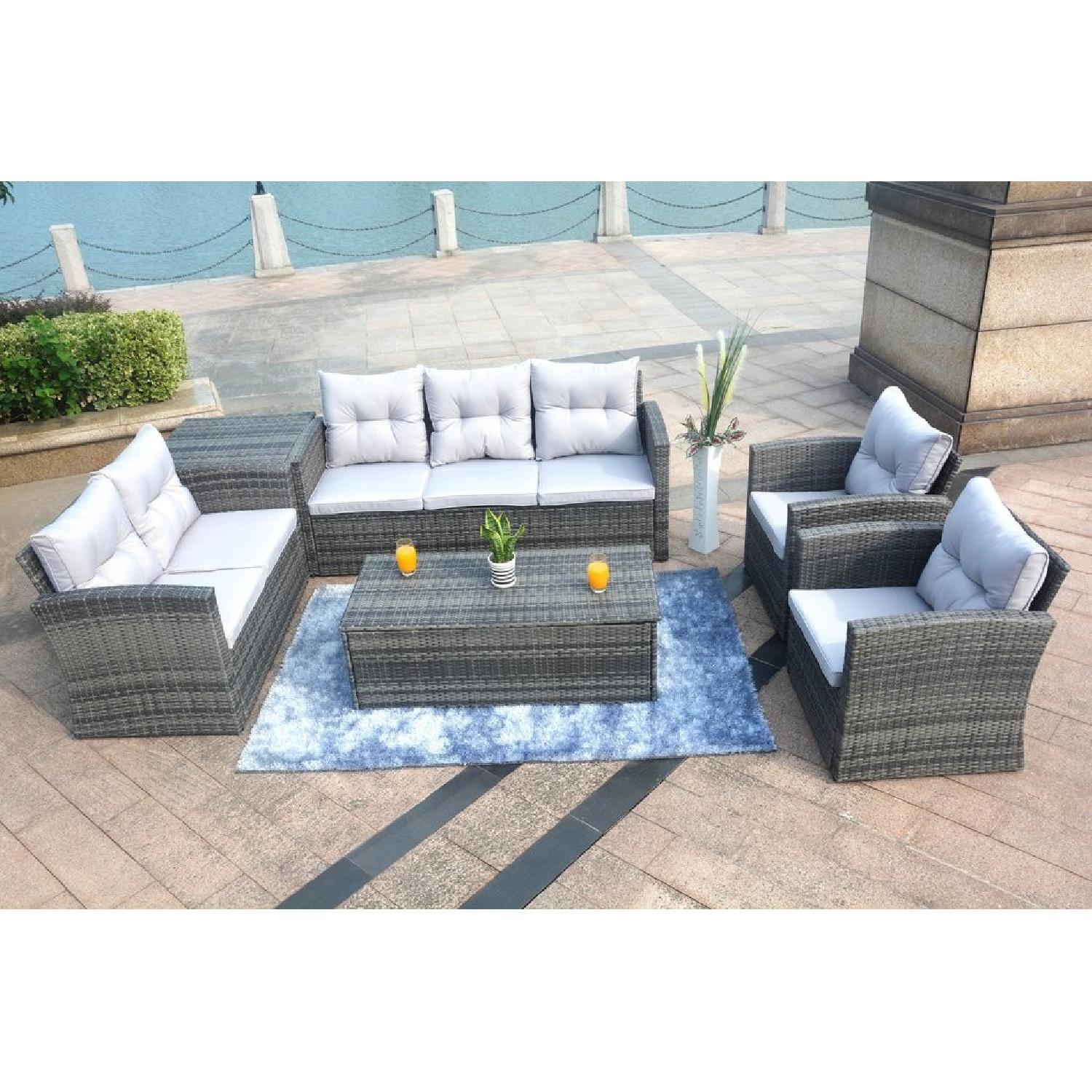 Edmond 6 Piece Outdoor Set w/ Storage-3