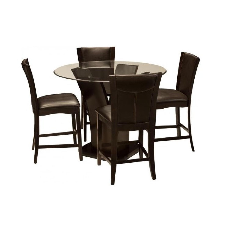 Raymour & Flanigan Venice 5-Piece Counter Height Dining Set