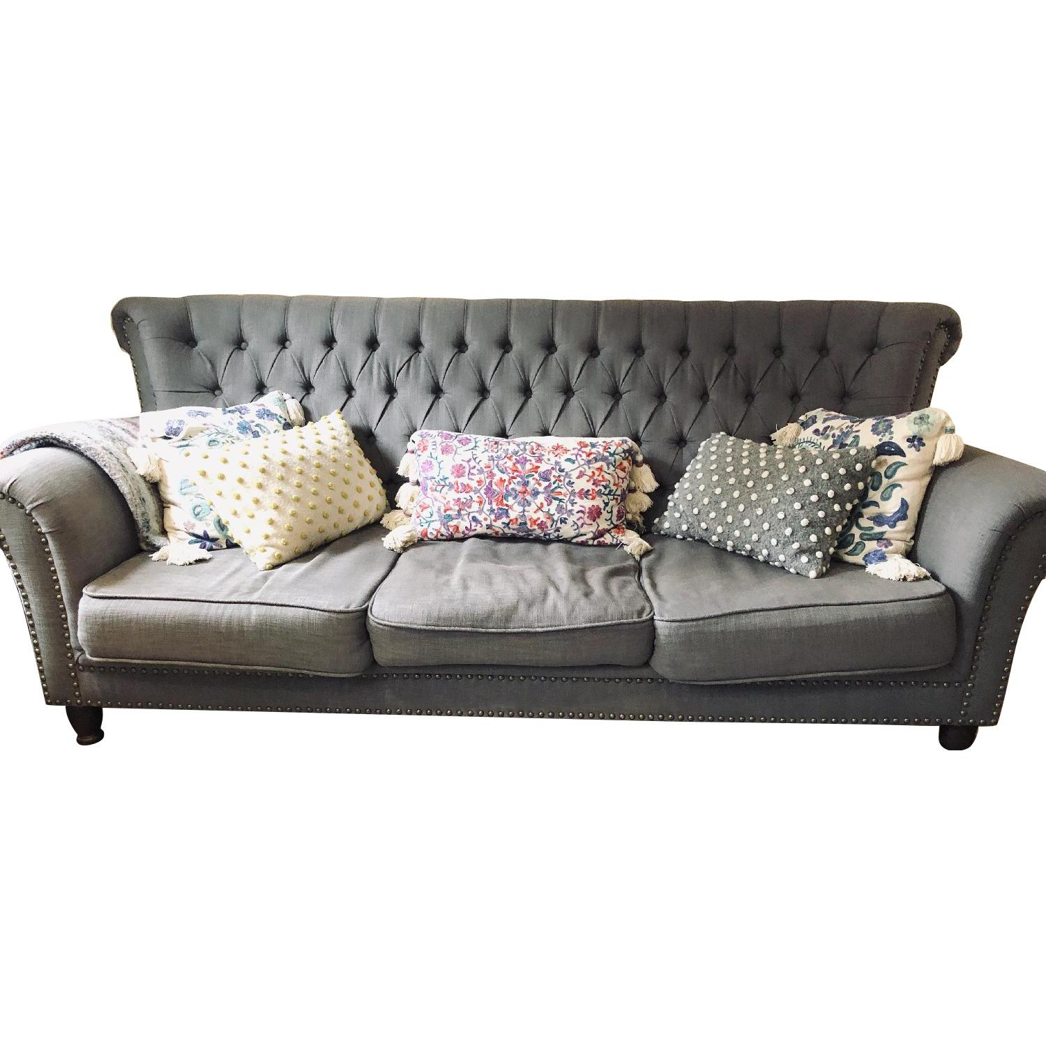ABC Carpet and Home Wingback Sofa