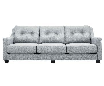 Raymour & Flanigan Polypropylene Kristoff Sofa