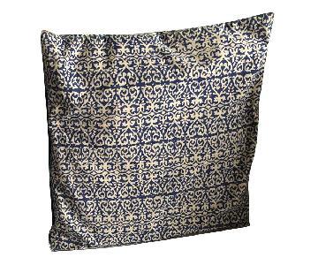 Roberta Roller Rabbit Navy & White Printed Pillows