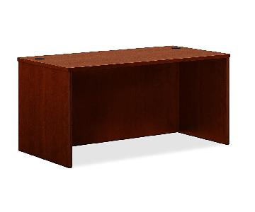 HON BL Laminate Series Shell Rectangular Office Desk