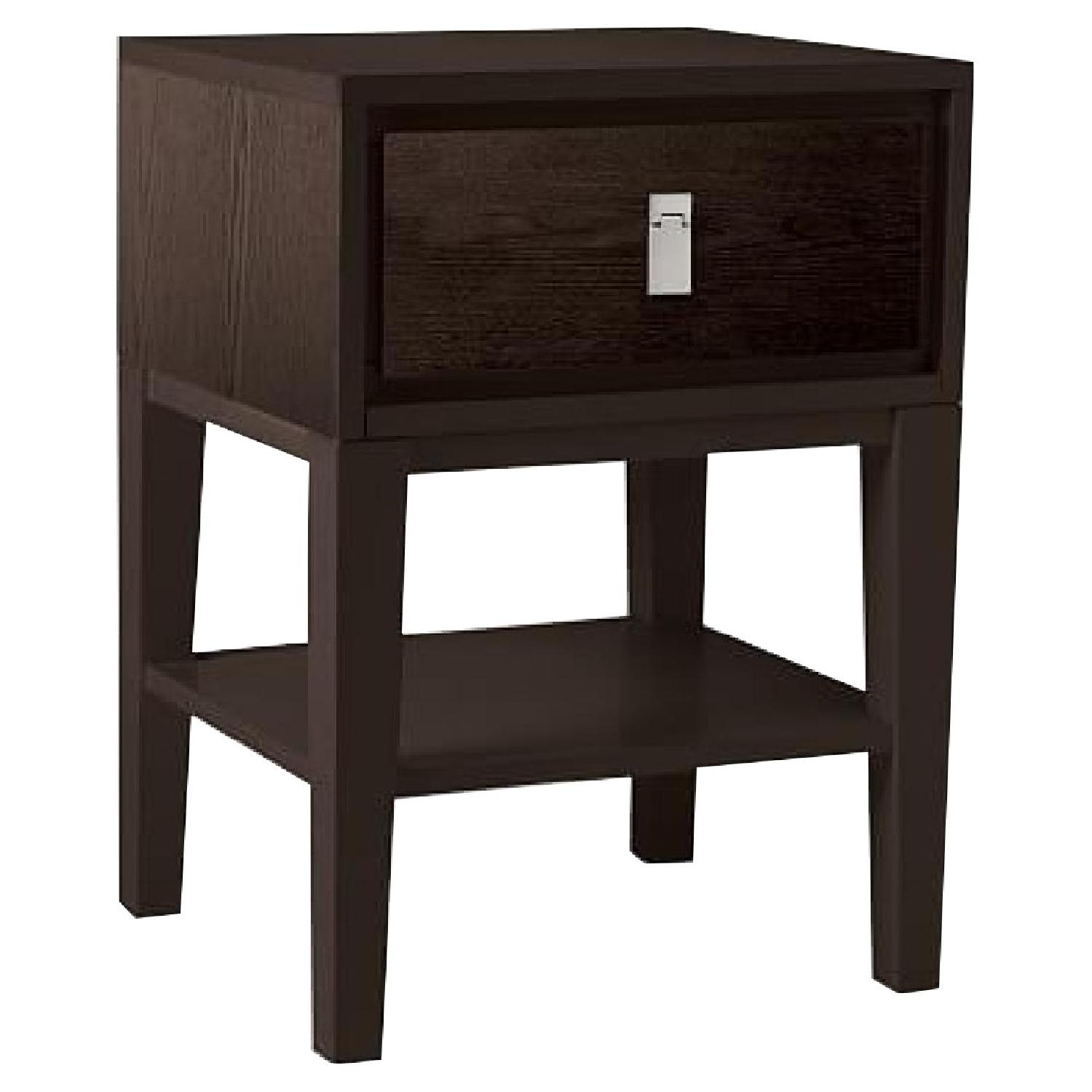 West Elm Niche Nightstand in Chocolate