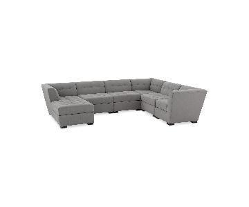 Macy's Roxanne II 6-Piece Sectional Sofa