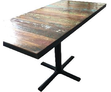 From The Source Urban Farm Top Table w/ 2 Benches