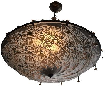 ABC Carpet and Home Moroccan Style Dome Chandelier