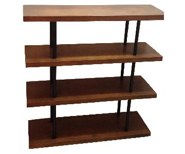 Vintage Art Deco 4-Tier Bookshelf