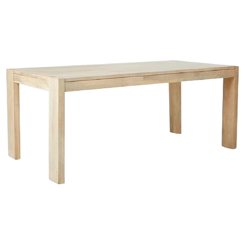 West Elm Boerum Dining Table W Dining Bench Aptdeco