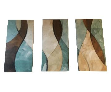 3-Piece Wall Panel Art