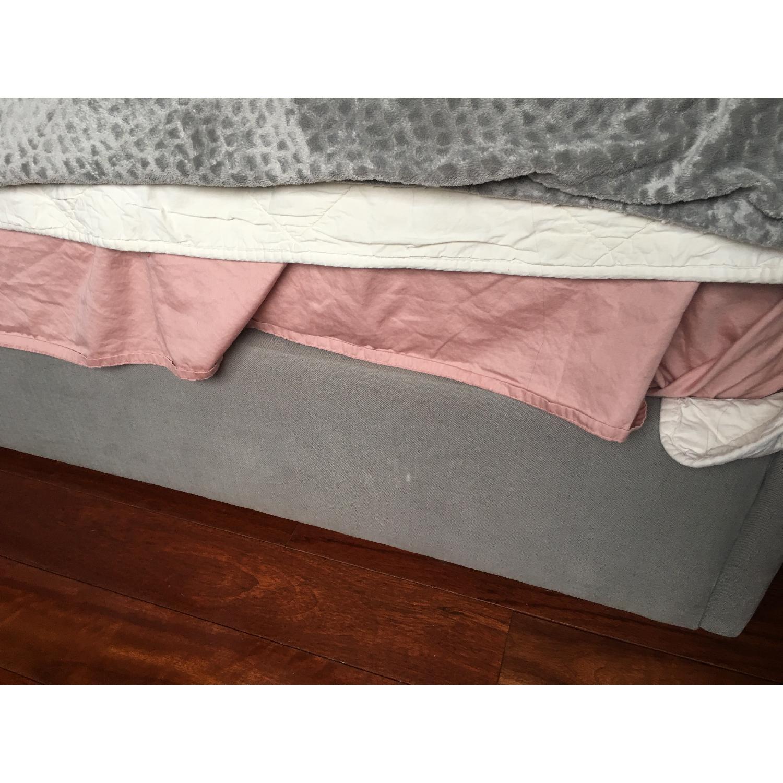 Restoration Hardware Adler Tufted Fabric King Bed-6