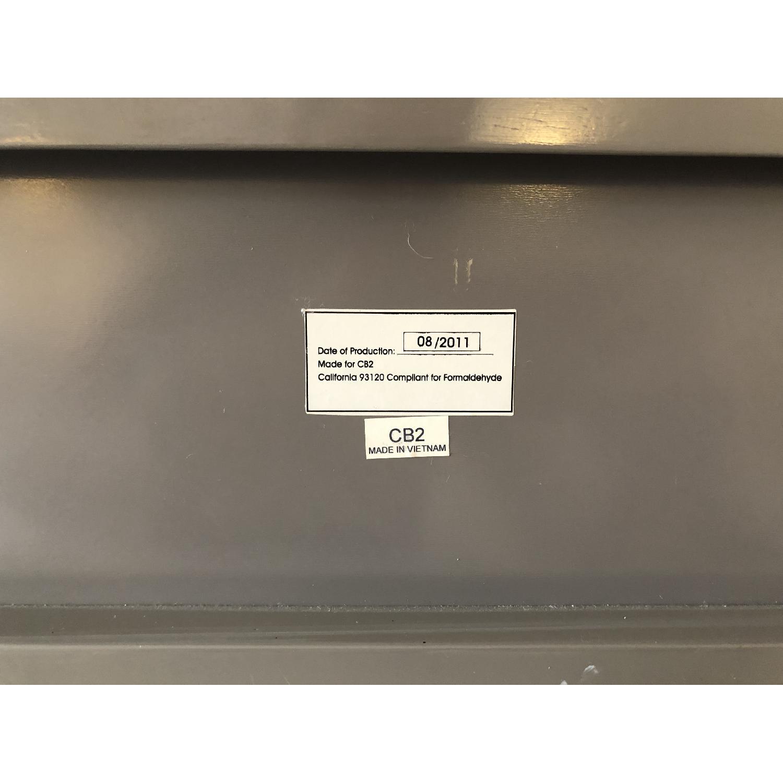 CB2 Slice Grey Wall Mounted Storage Shelf-3
