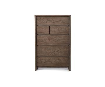 Crate & Barrel Reed 6-Drawer Chest