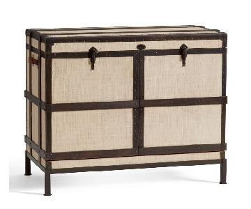 Pottery Barn Ludlow Trunk Bar Cabinet