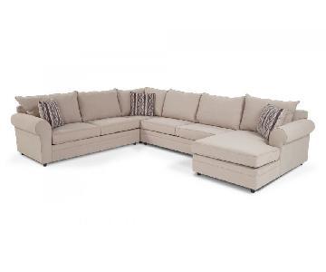Bob's Venus 4 Piece Sectional Sofa