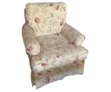 Four Seasons Swivel Glider/Rocker Armchair w/ Slipcover
