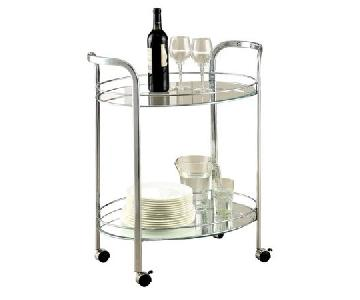 Wrought Studio Filler Bar Cart