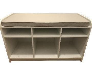 Storage Cubby Bench