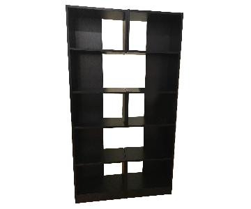 Black Wood Bookcases