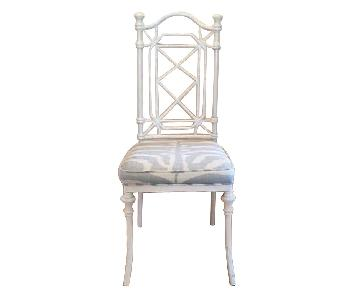 Custom Chippendale Style Dining Chairs