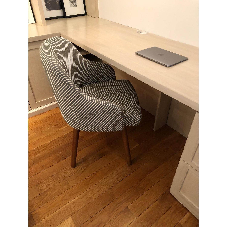 West Elm Mid Century Swivel Office Chair Aptdeco