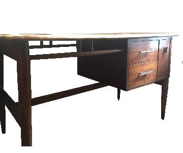 Danish Mid Century Teak Writing Table