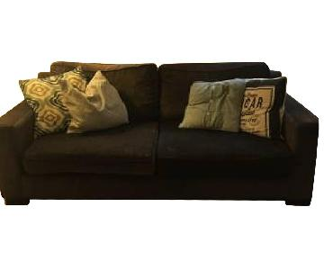 Lind Canadian Velour Sofa