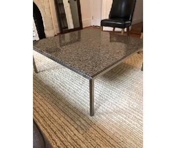 Room & Board Granite-Top Coffee Table