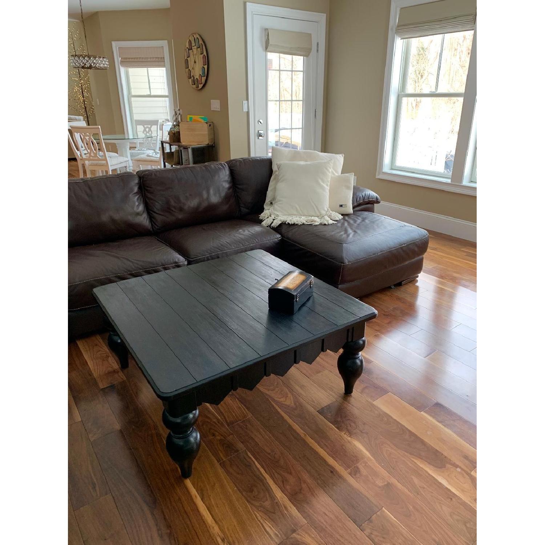 Natuzzi 5-Piece Leather Sectional Sofa - AptDeco