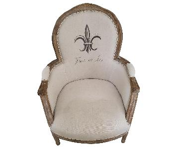 ABC Carpet and Home French Country Accent Chair