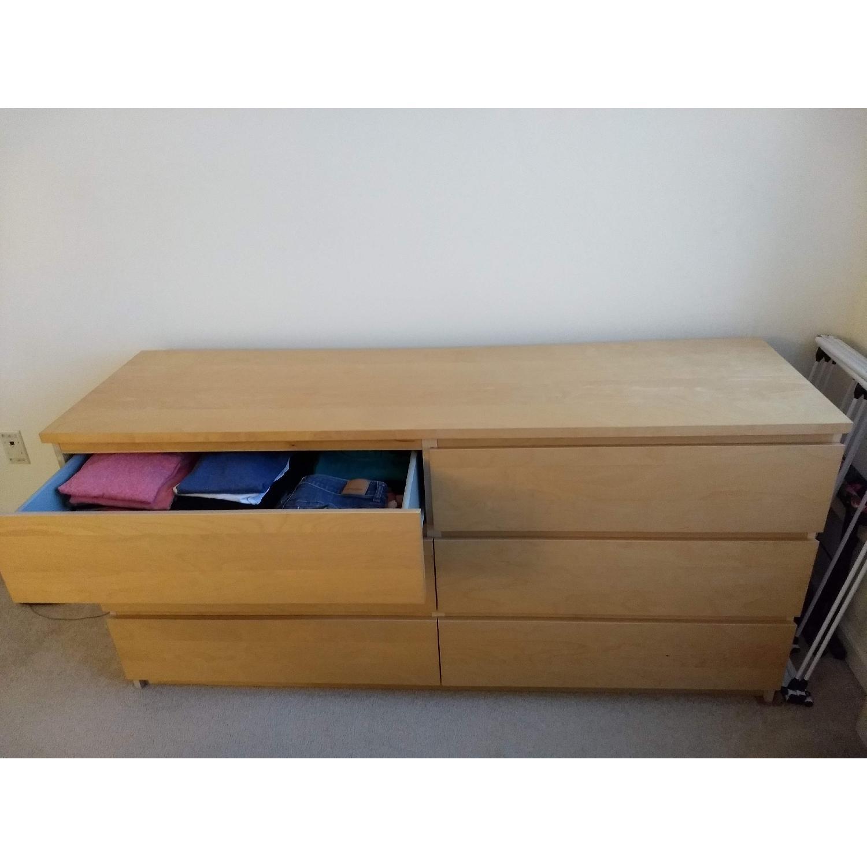 Ikea Malm 6 Drawer Dresser-0