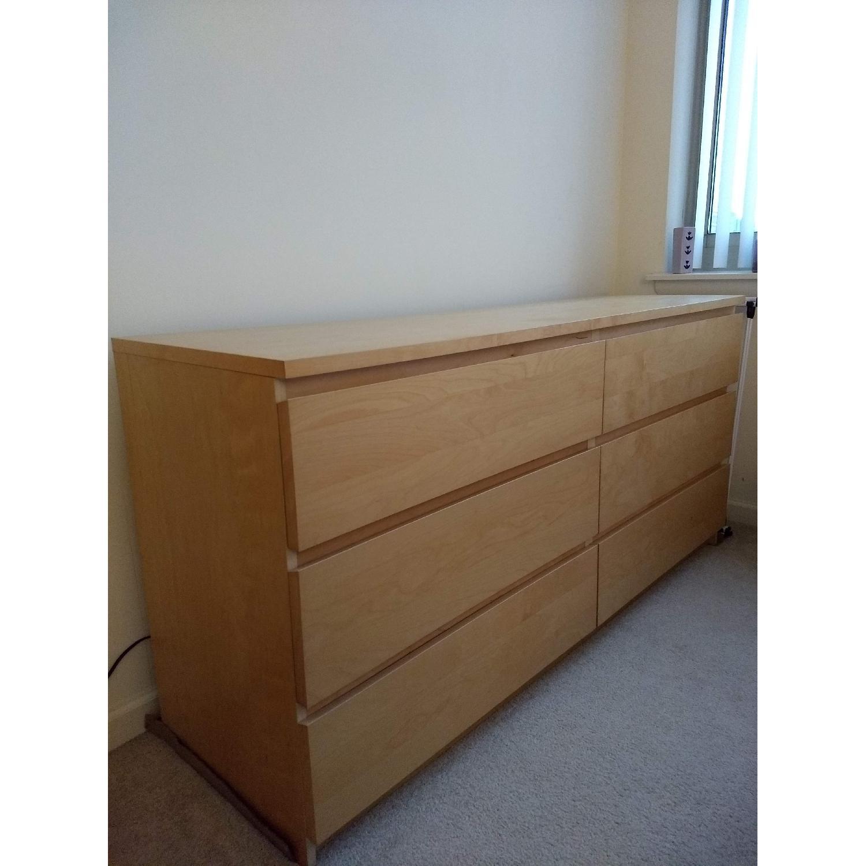 Ikea Malm 6 Drawer Dresser-3