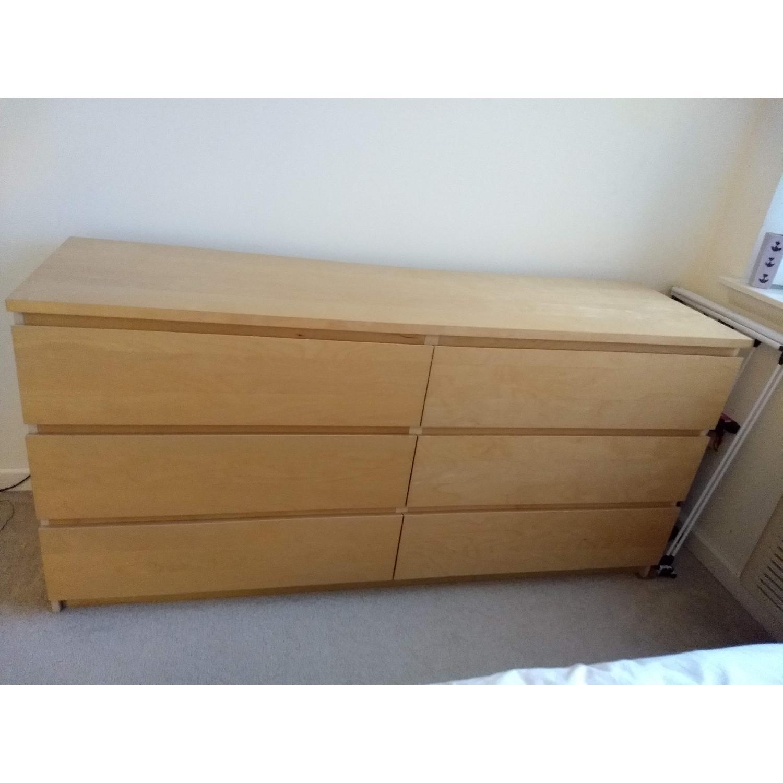 Ikea Malm 6 Drawer Dresser-4