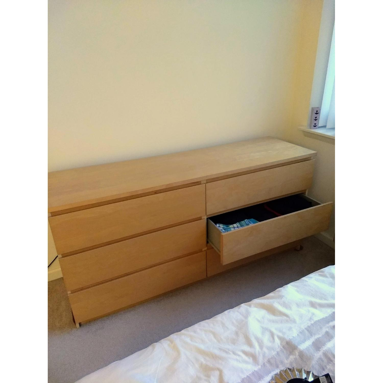 Ikea Malm 6 Drawer Dresser-9