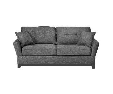 Jennifer Convertibles Opus Tufted Sofa