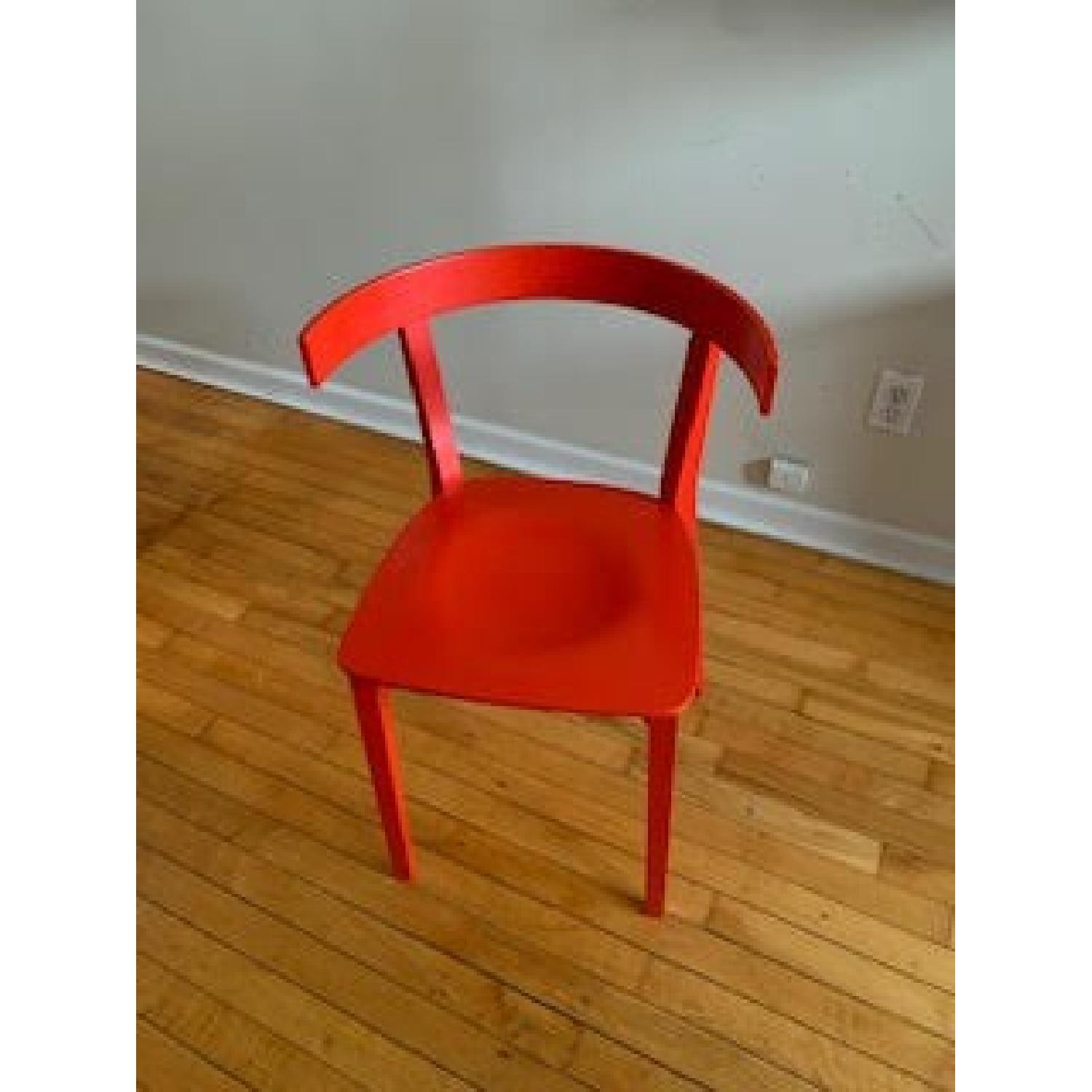 Design Within Reach Red Chair-0
