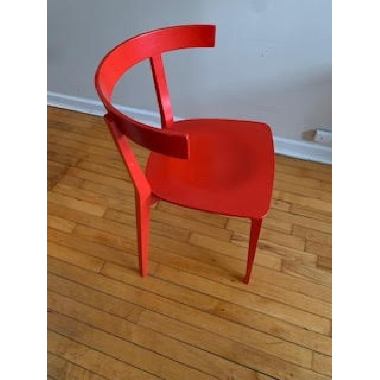 Design Within Reach Red Chair-2