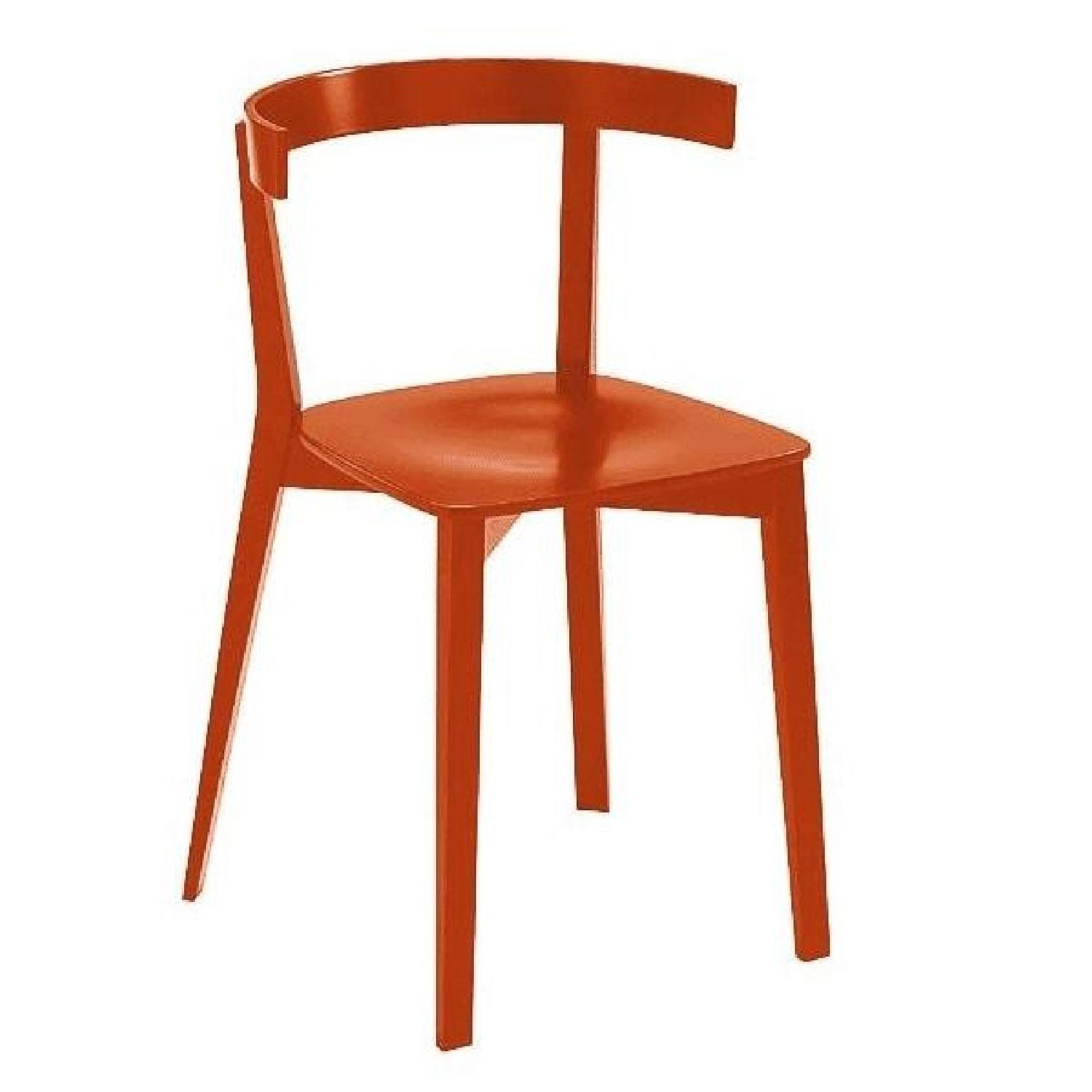 Design Within Reach Red Chair