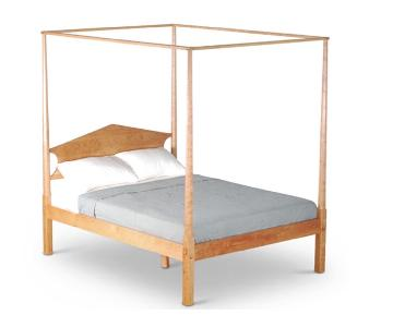 Scott Jordan Cherry Four Poster King Size Bed