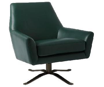 West Elm Lucas Swivel Base Chair
