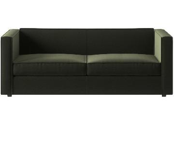 Crate & Barrel Club Sofa