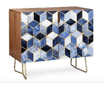 Elisabeth Fredriksson Blue Cubes Credenza