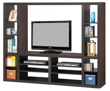 Cappuccino Modern Entertainment Center