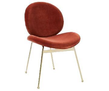 West Elm Jane Velvet Dining Chairs
