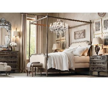 Restoration Hardware Vienne Queen Size Canopy Bed