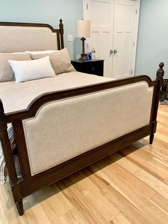 Restoration Hardware Vienne Queen Size Canopy Bed