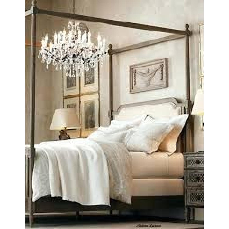 Restoration Hardware Vienne Queen Size Canopy Bed-8