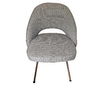 Modern Light Gray Dining Chair