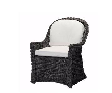Summer Classics Resin Wicker Arm Chairs